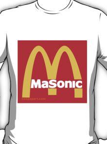 Masonic Freemason McDonald's Esoteric Symbol T-Shirt