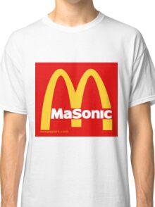 Masonic Freemason McDonald's Esoteric Symbol Classic T-Shirt