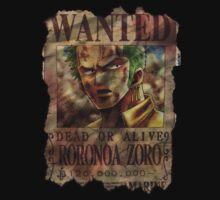 Roronoa Zoro. Dead or Alive! by Xenomind