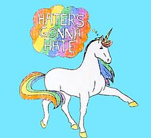 Haters gonna Hate Blue by swift1989
