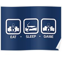 Eat, Sleep, Game (Console Version) Poster