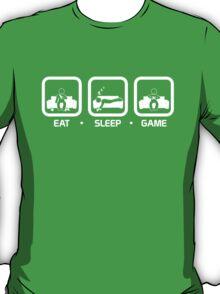 Eat, Sleep, Game (Console Version) T-Shirt