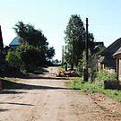 Russian village by Maksim Lazarenko
