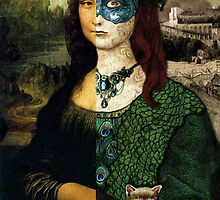 Altered Mona Lisa by talesanura