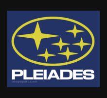 Pleiades Mythology Esoteric Mystery School Subaru Auto Logo Kids Clothes