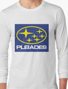 Pleiades Mythology Esoteric Mystery School Subaru Auto Logo Long Sleeve T-Shirt