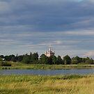 Church in Russia by Maksim Lazarenko
