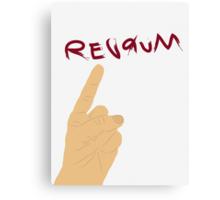 Redrum Canvas Print