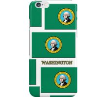 Smartphone Case - State Flag of Washington V iPhone Case/Skin