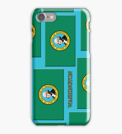 Smartphone Case - State Flag of Washington XI iPhone Case/Skin