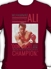 Muhammad Ali - G.O.A.T.  T-Shirt