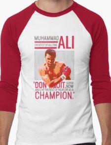 Muhammad Ali - G.O.A.T.  Men's Baseball ¾ T-Shirt
