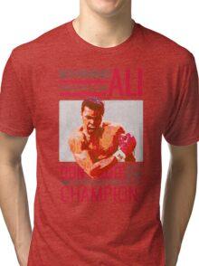 Muhammad Ali - G.O.A.T.  Tri-blend T-Shirt