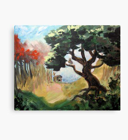 Bubo's Tree Canvas Print