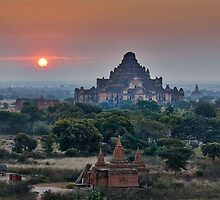 sunrise over Bagan by travel4pictures
