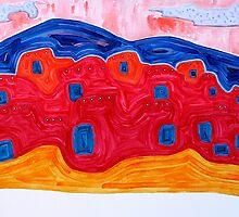 Soft Pueblo original painting by CrowRisingMedia
