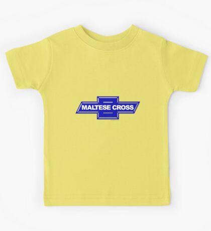 Chevrolet Maltese Cross Knights of Malta Chevy Emblem Kids Tee