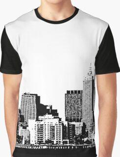melbourne skyline Graphic T-Shirt