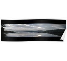 Panorama River Foyle, Derry Poster