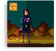 8-bit sequel Canvas Print