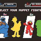 Muppet Fighter by thehookshot