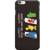 Muppet Fighter iPhone Case/Skin