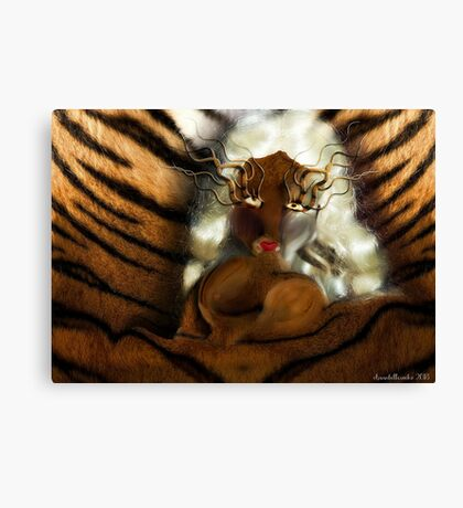 Tiger doll  Canvas Print