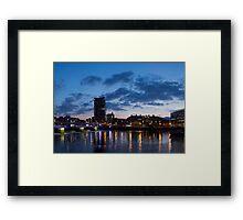 Belfast waterfront Framed Print