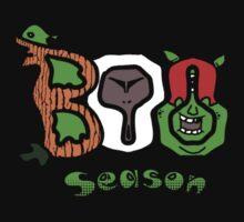 Boo Season (On Black) Kids Clothes