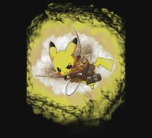 Pikachu! I CHOOSE YOU! ATTACK ON TITAN! by Outbreak  DesignZ
