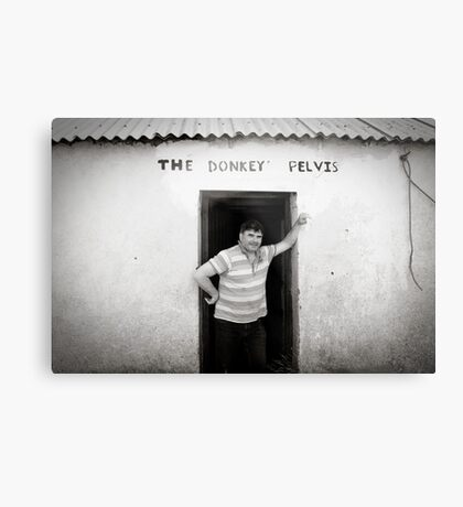 The Donkey Pelvis, Owey Island Metal Print