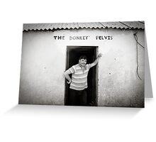 The Donkey Pelvis, Owey Island Greeting Card