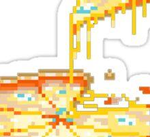 Pizza is my best friend tee Sticker