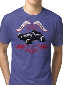 Girls and Boys Speed Shop Tiny Tot's Speedway  Tri-blend T-Shirt