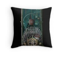 King Bubbles Throw Pillow