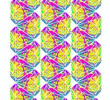 Candy Diamond Pattern by Keelin  Small