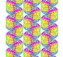 Candy Diamond Pattern by Keelin  Small