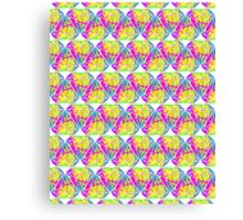 Candy Diamond Pattern Canvas Print