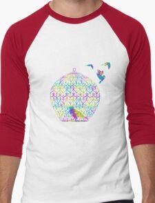 Free Bird Men's Baseball ¾ T-Shirt