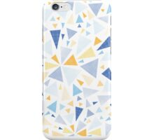 Abstract textured triangles bursts pattern iPhone Case/Skin