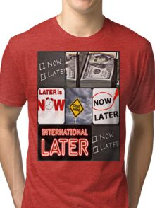 world crisis Tri-blend T-Shirt