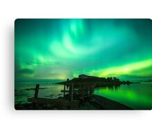 I LOVE NORWAY Canvas Print