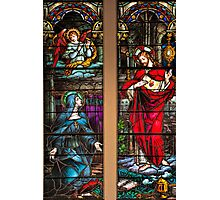 St. Margaret Mary Alacoque and Sacred Heart of Jesus Photographic Print