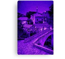 An Evening in Bosnia Canvas Print