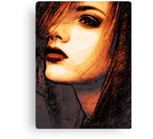 Face 26 Canvas Print