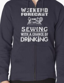 SEWING WITH A CHANCE OF DRINKING T-Shirt