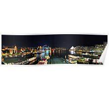 Circular Quay ferry wharf Poster