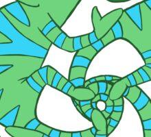 Chameleon Swirl Sticker