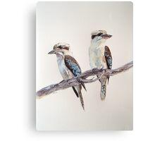 Kookaburras Canvas Print