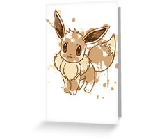 Eevee Greeting Card
